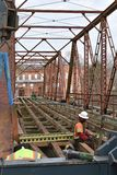 Мост на SC Glendale приведен для пользы как собирать пятно Стоковые Изображения RF