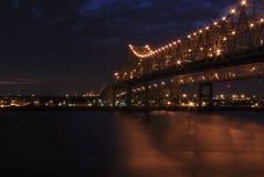 Мост Нового Орлеана стоковая фотография rf