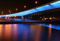 Мост ночи Стоковые Изображения RF