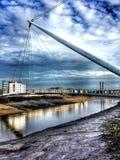 Мост Ньюпорта Стоковые Изображения