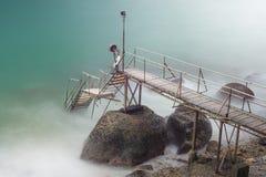 Мост облаков Стоковое фото RF