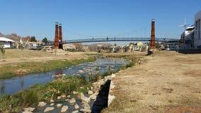 Мост озера Bruma Стоковые Изображения RF