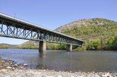 мост около slatington Пенсильвании Стоковые Изображения RF