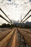 Мост опасности стоковые изображения rf