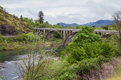 Мост Орегона стоковое фото