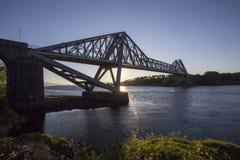 Мост дороги Connel Стоковые Изображения RF