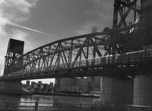 Мост острова Рузвельта стоковые изображения rf