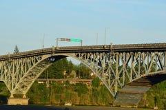 Мост острова Ross Стоковое фото RF