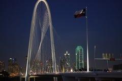 Мост охоты Маргарета на ноче Стоковое Изображение RF