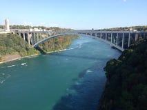 мост падает niagara стоковое фото