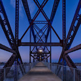 Мост парка Клинтона президентский стоковое изображение rf