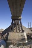 Мост поезда в западной Неваде Стоковое Изображение