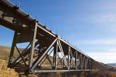 Мост поезда Стоковое Изображение RF