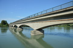 Мост поезда стоковые фотографии rf