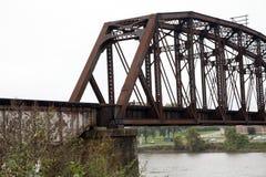 Мост поезда Стоковая Фотография