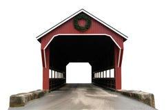 мост покрыл изолировано Стоковые Изображения
