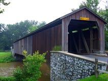 мост покрыл Пенсильванию США стоковое изображение rf