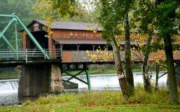 мост покрыл длиной Стоковая Фотография RF