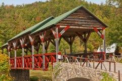 мост покрыл Стоковое Изображение