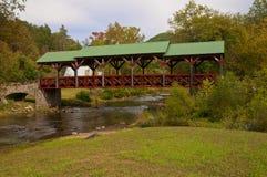 мост покрыл Стоковая Фотография RF