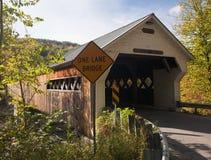 мост покрыл dummerston стоковые изображения rf