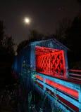 мост покрыл ol Стоковая Фотография