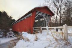 мост покрыл дорогу everett Стоковая Фотография RF