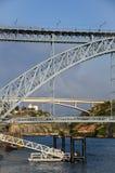 Мост Порту Dom Луис Стоковое Изображение RF