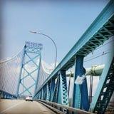 Мост посола стоковые фотографии rf