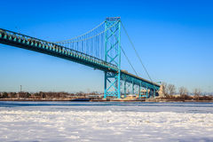 Мост посола Стоковое фото RF