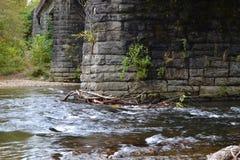 мост под водой Стоковое Фото