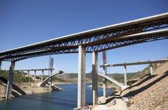 Мост под конструкцией Стоковая Фотография RF