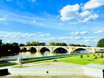Мост приключения стоковые изображения rf