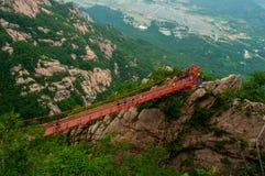 Мост приключения стоковые фотографии rf