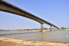 Мост приятельства Тайск-Лаоса Стоковое Изображение RF
