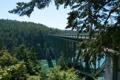 Мост пропуска обмана Стоковая Фотография RF