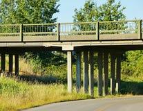 Мост проселочной дороги Стоковое Фото