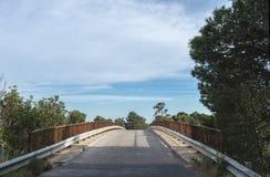 мост пустой Стоковая Фотография RF