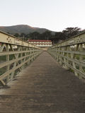 Мост пляжа родео Стоковое Фото
