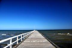 Мост пляжа Frankston Стоковое Изображение