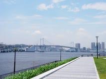 Мост радуги в Japan  стоковое фото rf