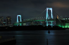 Мост радуги к ноча Стоковые Фотографии RF