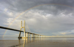 Мост радуги Стоковые Фотографии RF