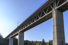 Мост реки Изара Стоковая Фотография