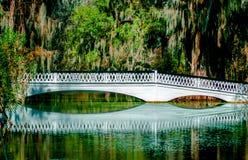 Мост реки Эшли Стоковые Изображения RF