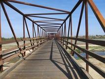 Мост Рекы Santa Ana Стоковые Изображения
