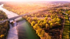 Мост-рек-Хорватия Стоковые Фотографии RF
