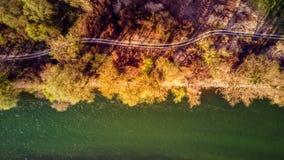 Мост-рек-Хорватия Стоковые Фото