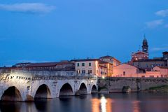 мост римский Стоковые Фото