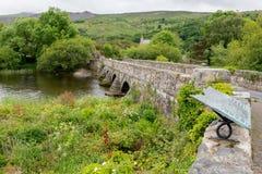 Мост ручки-Llyn Pont Стоковые Изображения RF